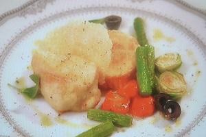 鶏肉と春野菜のソテー